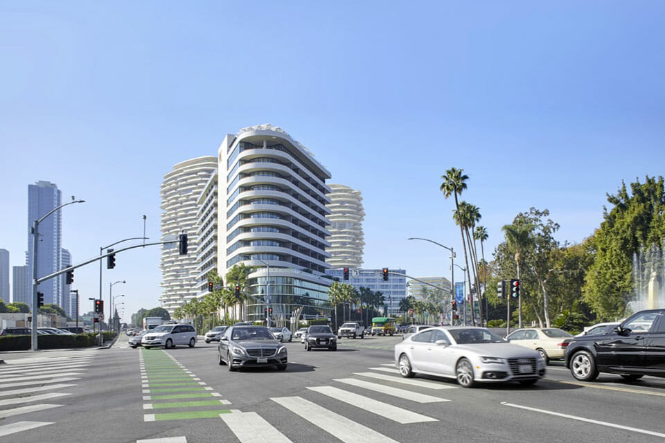 Wilshire Blvd and Santa Monica Blvd
